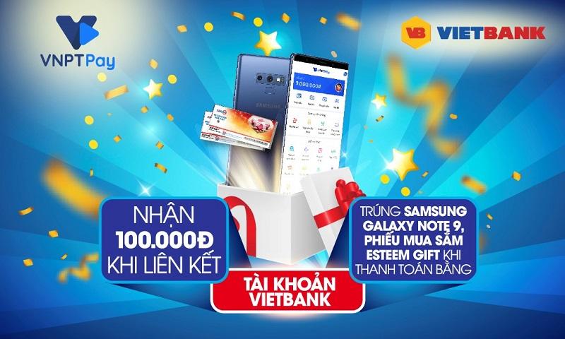 Mưa quà tặng từ Vietbank - VNPT Pay