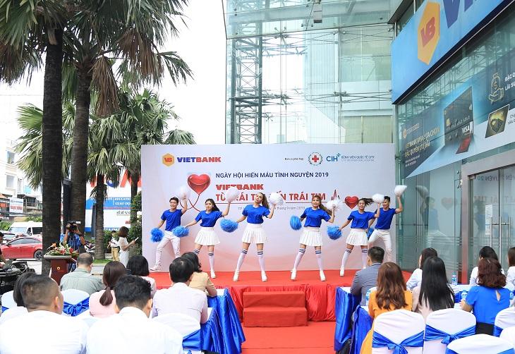 Vietbank huy động 190 đơn vị máu trong ngày hội hiến máu 2019