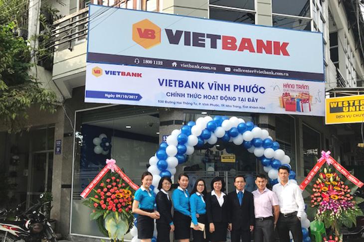 Vietbank khai trương Phòng giao dịch Vĩnh Phước