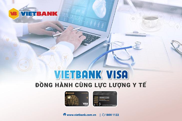 Vietbank dành đặc quyền ưu đãi thẻ visa cho CBNV y tế sau dịch Covid 19