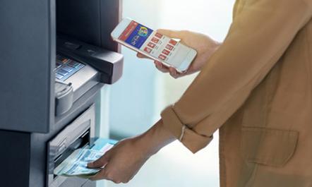 Dịch vụ rút tiền mặt Cardless